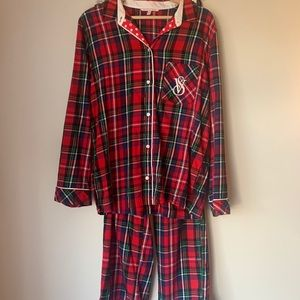 Victoria's Secret plaid pajama set